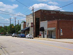 Coats, North Carolina - Main Street in Coats