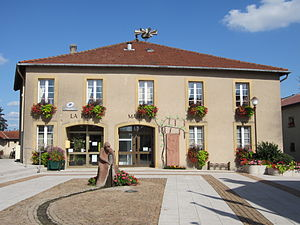 Ay-sur-Moselle - Image: Mairie Ay Moselle