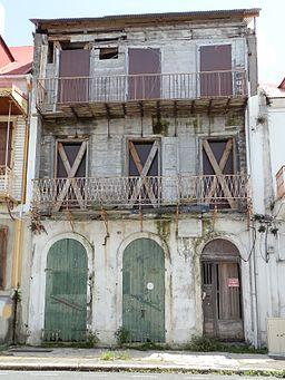 Maison Saint-John Perse - Façade