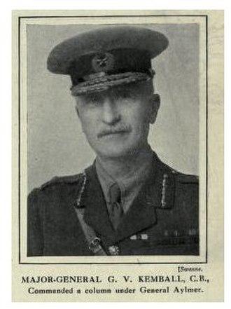 Battle of Dujaila - Major General George V. Kemball