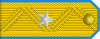 Major General of the Air Force rank insignia (North Korea).svg