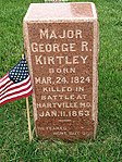 Major George R Kirtley Grave Marker.jpg