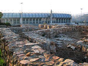 Malha - Bronze Age settlement excavated in Malcha, between Kanyon Malha and Teddy Stadium