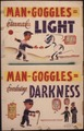 Man - goggles = eternal light. Man - googles = everlasting darkness. - NARA - 535369.tif