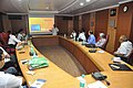Manash Bagchi Presenting Case Studies On NIBMG Museum Making - NMST Delegates Visit NCSM - Kolkata 2017-06-19 2249.JPG