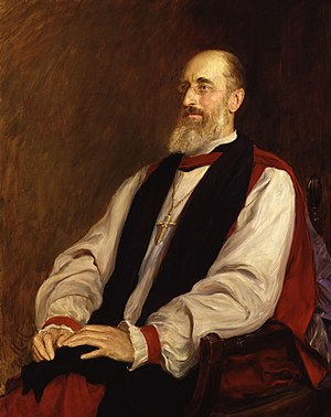 Mandell Creighton - Creighton as Bishop of London, by Sir Hubert von Herkomer.