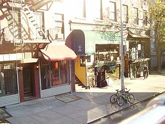 Greenwich Avenue - Shops on east side of Greenwich Avenue
