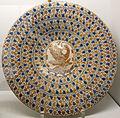 Manises, gran piatto lustrato, 1460-70 ca..JPG