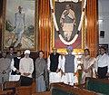 Manmohan Singh, the Speaker, Lok Sabha, Smt. Meira Kumar, the Leader of Opposition in Lok Sabha, Shri L.K. Advani, the Chairperson, UPA.jpg