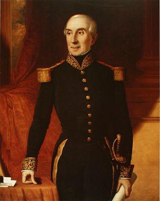 Manuel Blanco Encalada - Image: Manuel Blanco Encalada (Nataniel Hughes, 1853)