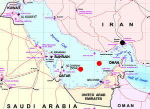Energy in Qatar - Location