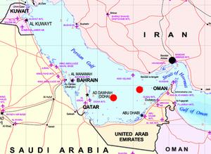Energy in Kuwait - Location