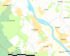Map commune FR insee code 33327.png