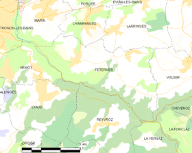 Map commune FR insee code 74127.png