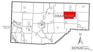 Athens Township, Crawford County, Pennsylvania Township in Pennsylvania, United States