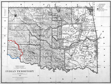 Map of Greer County Texas.png