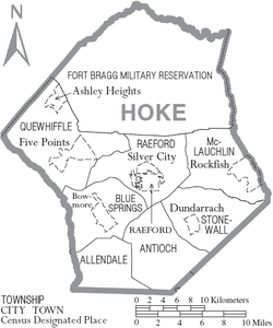 Image result for hoke county, North carolina townships
