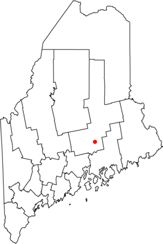 Orono, Maine - Location of town of Orono in state of Maine