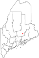 Map of Maine highlighting Orono.png