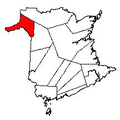 Map of New Brunswick highlighting Madawaska County 2.png
