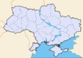 Map of Ukraine political simple city Nova Kakhovka.png