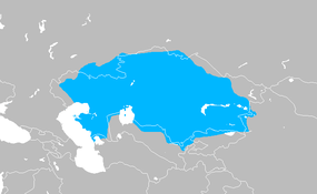 Map of the Kazakh Khanate 18th century.png