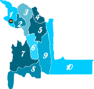 Chuquisaca Department - Image: Mapa chuqisaca