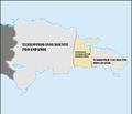 Mapa de la colonia de santo domingo durante la ocupación francesa.png