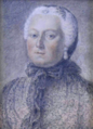 Maria Theresa of Austria In widow costume, drawing.png