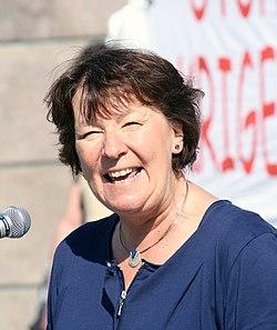 Marianne Borgen, Fredsmarsjen 2011.jpg