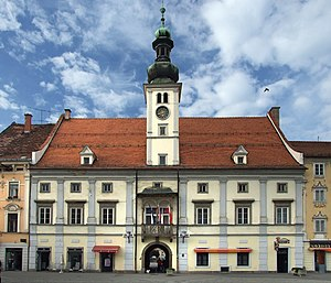 European Youth Capital - Image: Maribor Town Hall