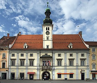 European Youth Capital - Image: Maribor Town Hall