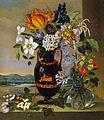 Marija Auersperg Attems - Vaza s cvetjem.jpg