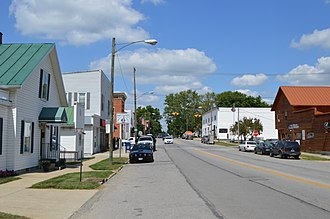 Waldo, Ohio - Marion Street downtown