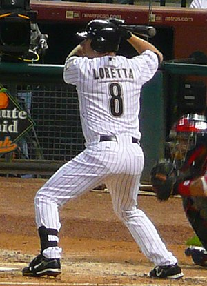 Mark Loretta - Loretta with the Astros in 2007.