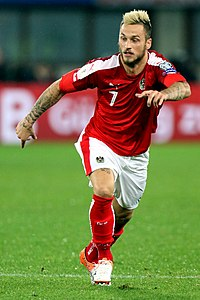 Marko Arnautović playing for Austria vs Wales 01.jpg