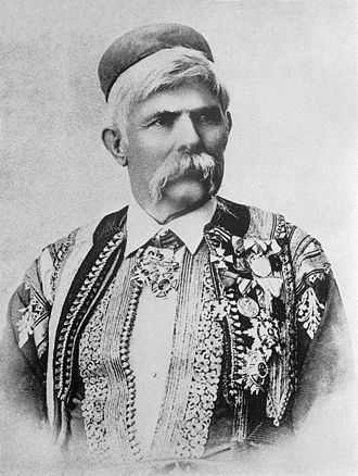 Battle of Novšiće - Marko Miljanov, commander of Montenegrin forces in the Battle of Novšiće