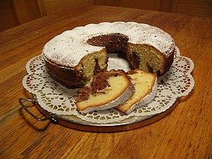 marble cake; Recipe: http://de.wikibooks.org/w...