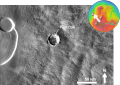 Martian impact crater Karzok based on day THEMIS.png