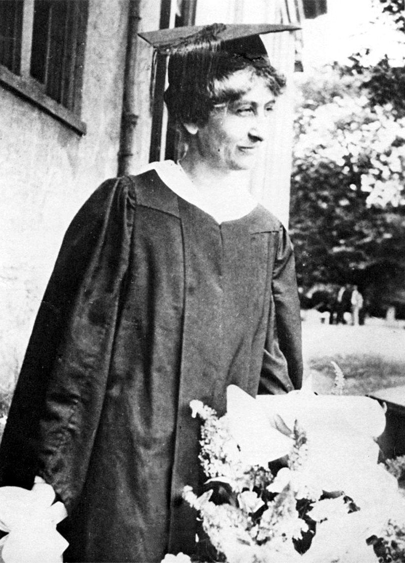 Mary Ethel Creswell graduation photo 1919