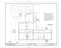 Mary Thackeray Perry House, 434 East Zaragoza Street, Pensacola, Escambia County, FL HABS FLA,17-PENSA,10- (sheet 2 of 4).png