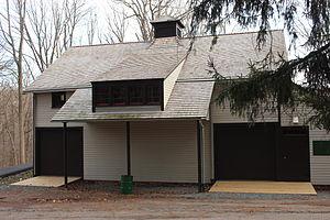 Feltville Historic District - Masker's Barn, restored in September 2011