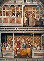 Maso di Banco1335-40 Fresco from Santa Croce, Florence 05.jpg
