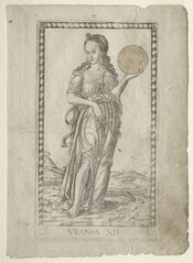Urania (astronomy) (from the Tarocchi series D:  Apollo and the Muses, #12)