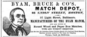 Union Street (Boston) - Image: Match Depot Union St Boston Directory 1850