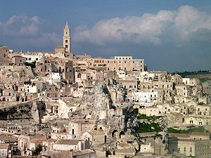 The Passion of the Christ - Old city of Matera