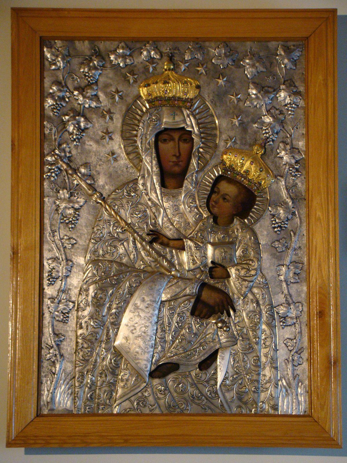 obraz Matki Boskiej Latyczowskiej