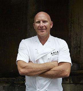 Matt Moran Australian chef