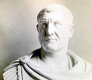 Equites - The emperor Maximinus I (Thrax) (ruled 235-8), whose career epitomises the soldier-equestrians who took over command of the army during the 3rd century. A Thracian shepherd who had led a group of peasant vigilantes against rural robbers in his home region, he joined the army as a cavalryman in ca. 197 under Septimius Severus and was probably granted an equus publicus by Caracalla towards the end of his rule (218). Under Alexander Severus he was given command of a legion and later served as provincial governor (praeses pro legato) in Mauretania Tingitana and in Germania before seizing supreme power in a coup d'état in 235