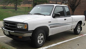 Ford Ranger (North America) - Mazda B2300 extended cab (US)